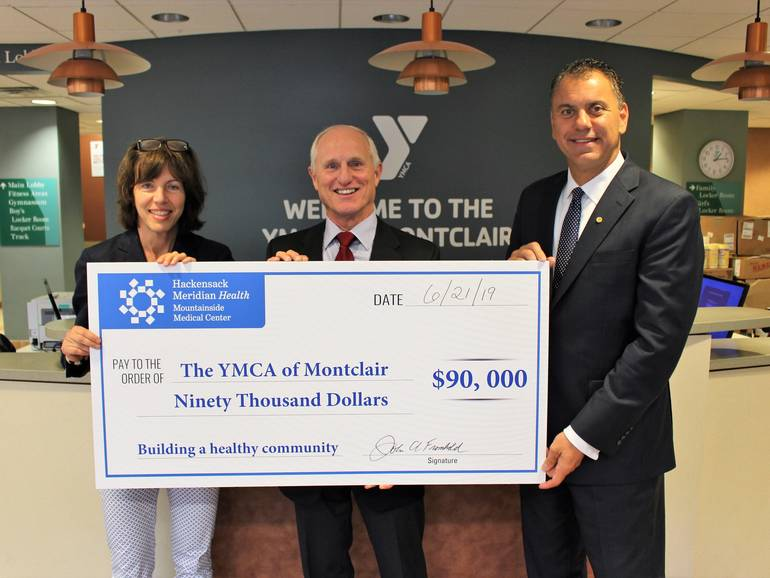 YMCA of Montclair and Hackensack Meridian Health Mountainside Medical Center Announce Partnership to Build a Healthier Community