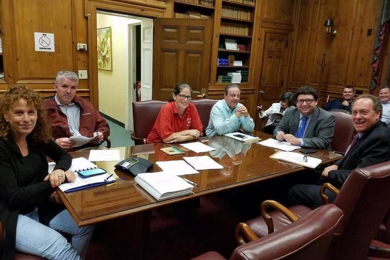 Springfield Representatives Among Those at Mayors Council Meeting on Rahway River Flooding