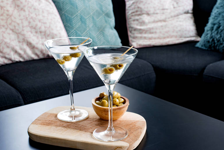 Martini Cocktails at Home