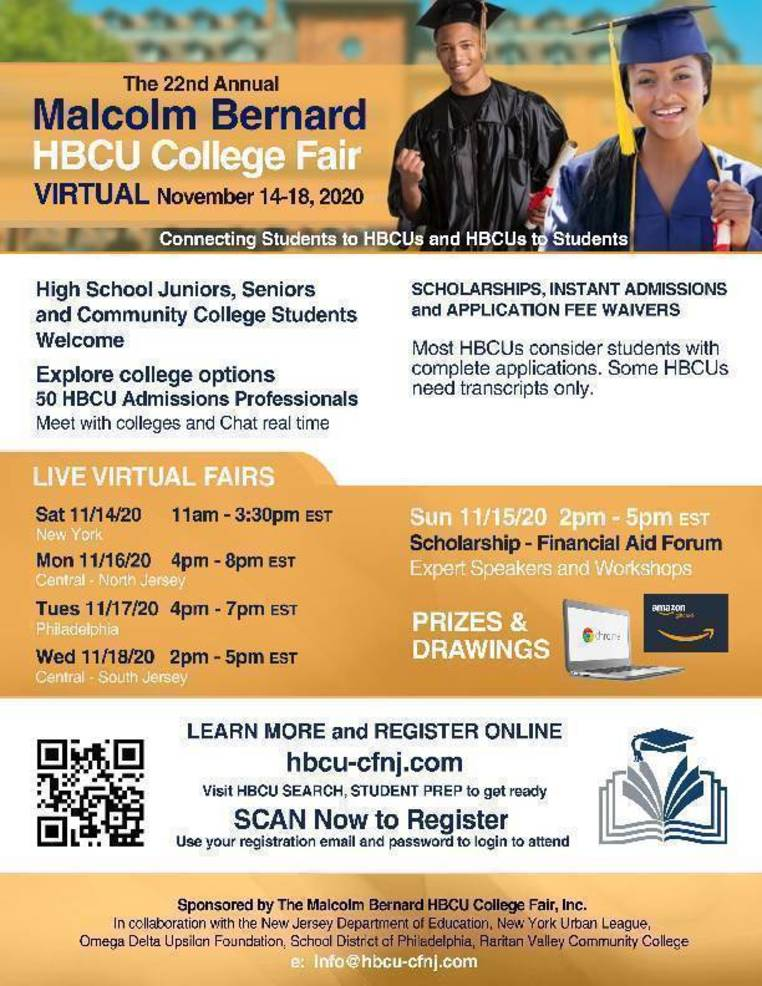 Malcolm Bernard Historically Black Colleges and Universities College Fair