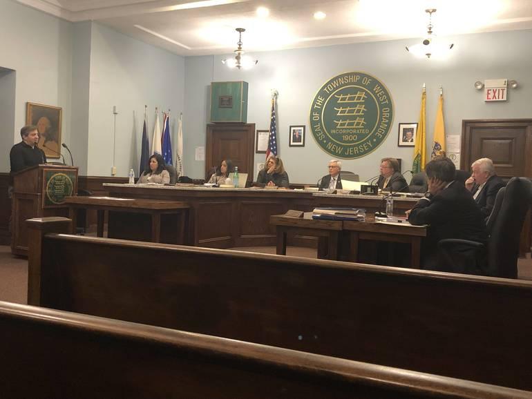 Mayor Parisi Addresses West Orange Town Council regarding proposed Rock Spring purchase.jpg