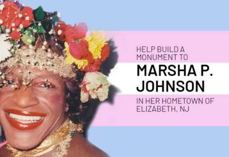 Marsha P. Johnson monument.png