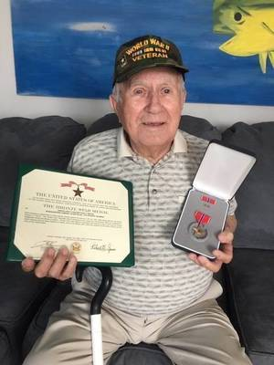 Remembering D-Day:New Jersey Veteran Remembers Landing on Normandy Beach