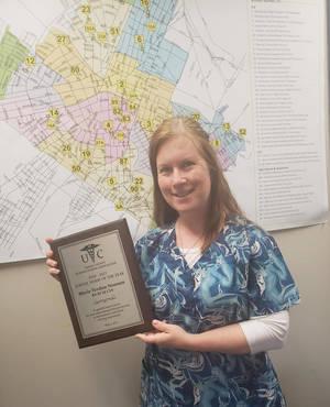 Elizabeth School Nurse Wins Union County School Nurse of the Year