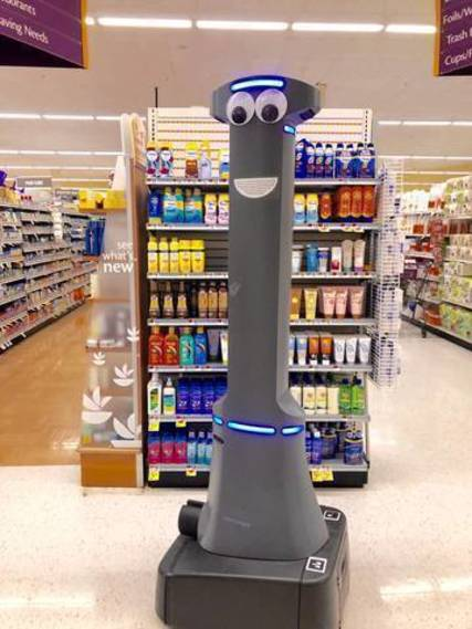 Marty the Robot has His Eyes on You at Stop and Shop - TAPinto