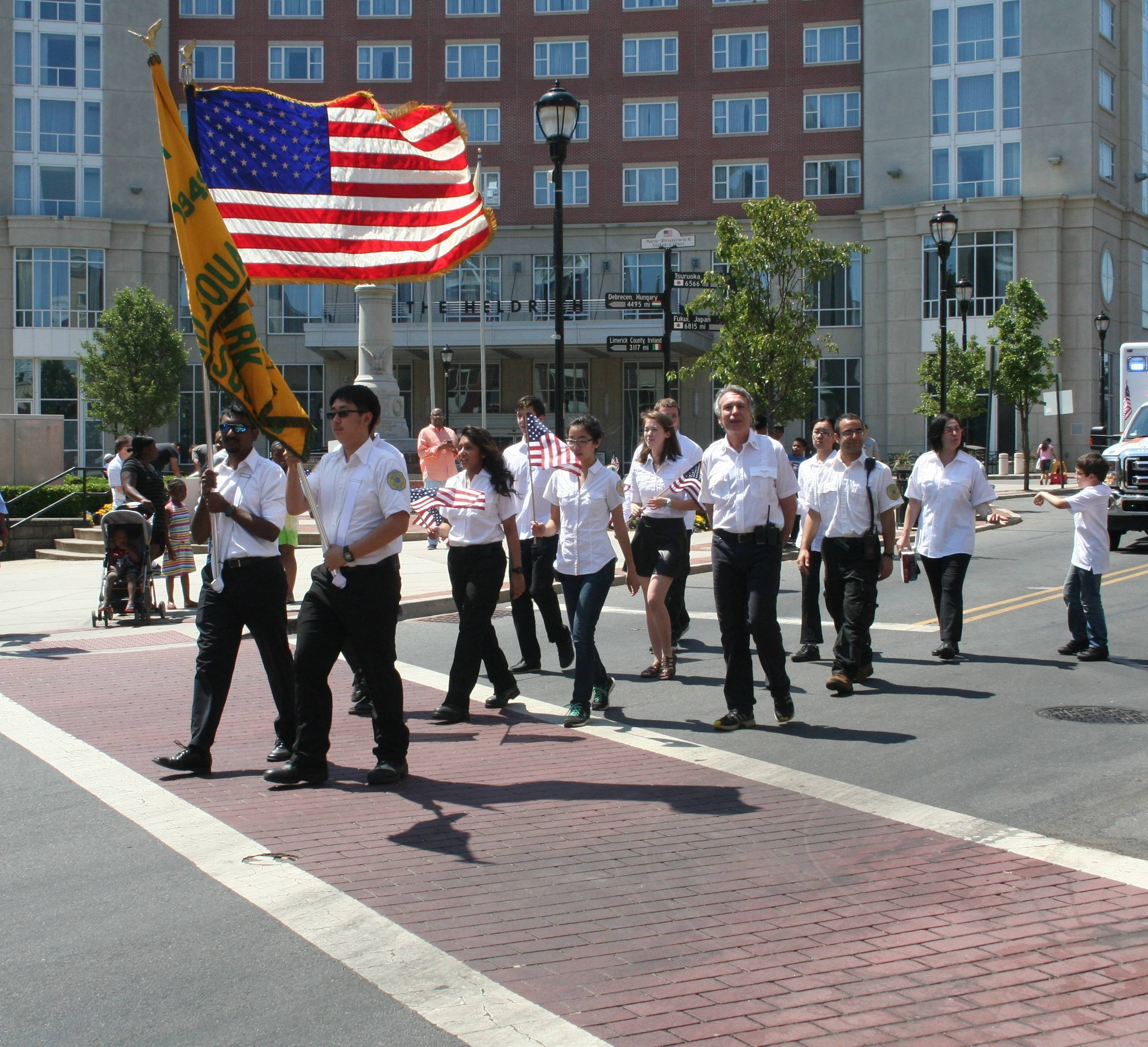 Memorial Day Parade Shows Cooperation Between City