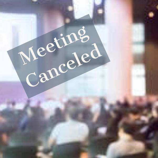 Budget Meeting Canceled For March 17