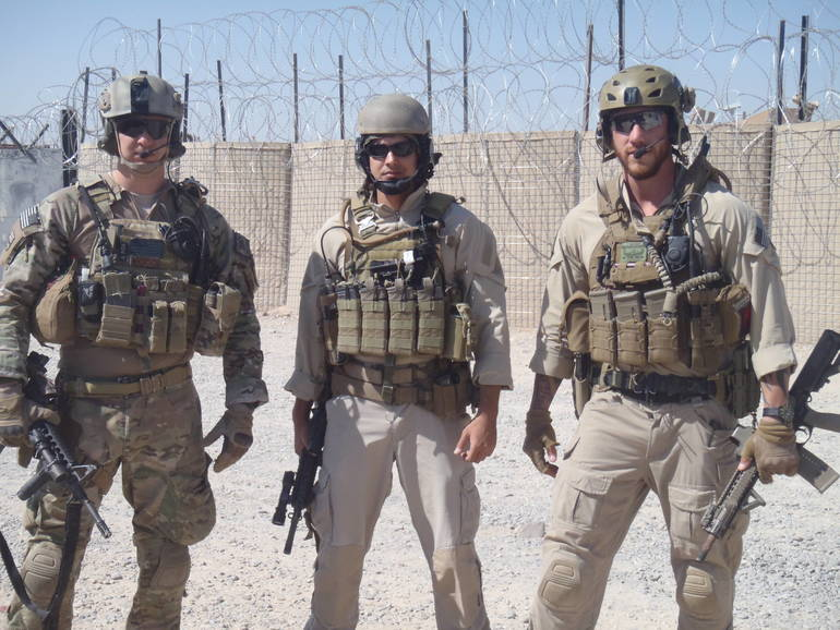 me and another two assault guys we would go out in small man teams of 6 to some areas.JPG