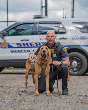 Mercer County Sheriff K-9, Partner Swiftly Locate Missing Woman