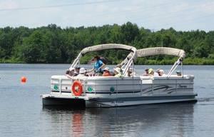 Carousel image 26ccaeb5813b7d5c310e 58db9bc752ca36fc7742 mercer county pontoon boat tours