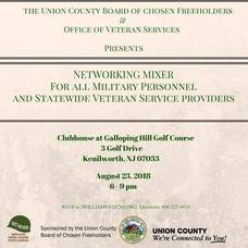 Union County Hosts Free Networking Mixer for All Military Personnel Thurs, Aug. 23