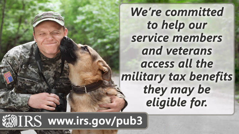 Free electronic filing options for military members and their families