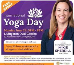 International Yoga Day,  an Evening of Self Care in Livingston