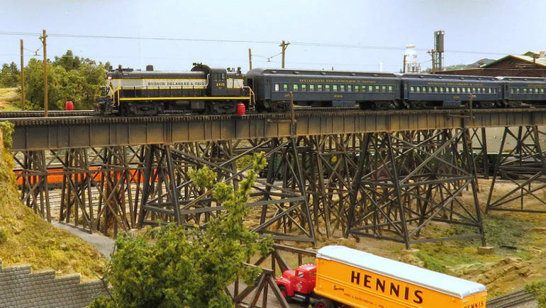Enjoy the Best Model Train Display in Union County — And Beyond!