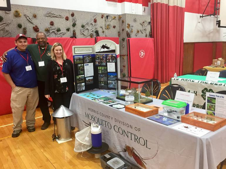 Morris Mosquito Control at Career Carnival for Kids