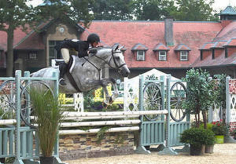 Monmouth At The Team Competition Begins at Hamilton Farm, Gladstone