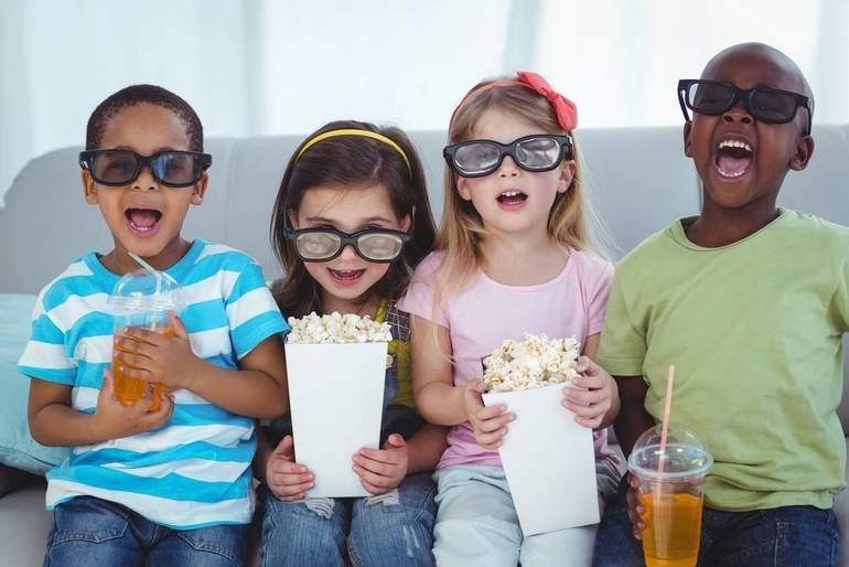 Family Movie Night With the Clark Police