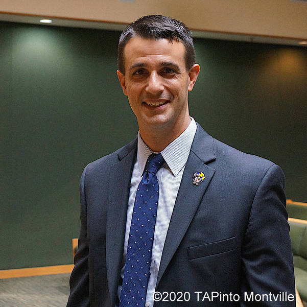 Montville Twp Police Chief Andrew Caggiano ©2020 TAPinto Montville.JPG