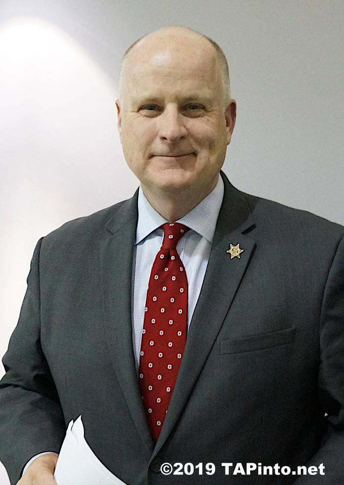 Morris County Sheriff James Gannon Melissa Benno.jpg
