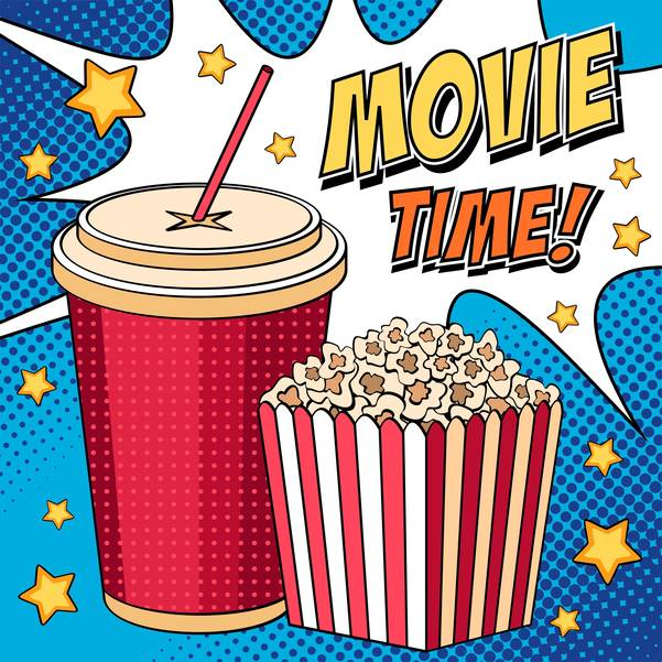 Free Movies Fridays; Today at the Morris County Library and What's Coming in February