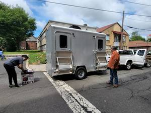 Mobile Shower Service Cleanses Bodies, Souls in New Brunswick