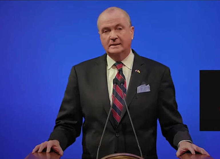 Gov. Phil Murphy gave New Jersey's State of the State address on Jan. 12, 2021.