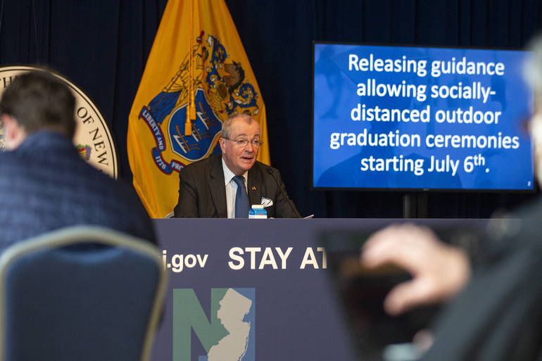 Gov. Murphy: Graduation Ceremonies Are Back On, Professional Sports Teams Can Start Practicing