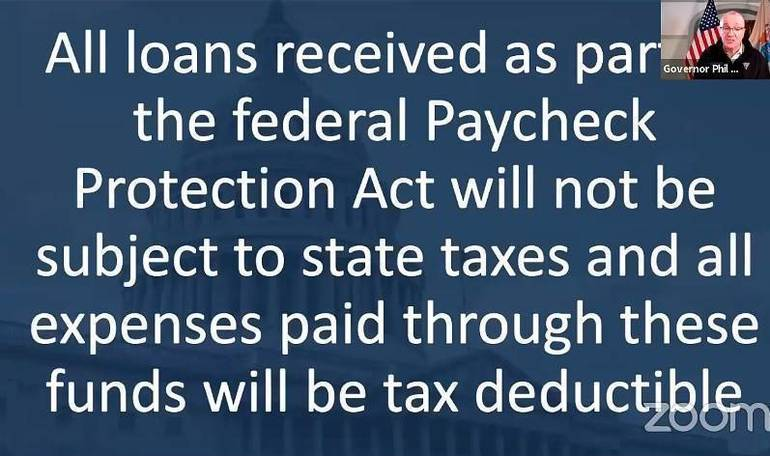New Jersey Will Not Tax PPP Loans to Small Businesses.