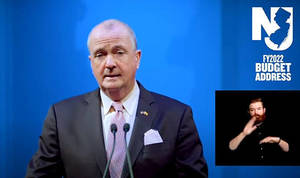 Gov. Phil Murphy presents his proposed FY 2022 budget for New Jersey.