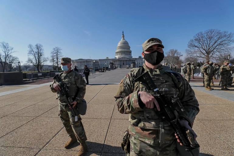 To Protect and Serve on Inauguration Day: 550 NJ National Guard Deployed to D.C.