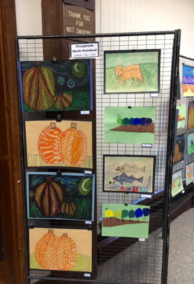 Nature-related themes from North Plainfield School