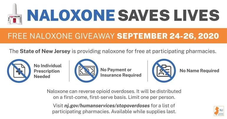 Naloxone Saves Lives -Sept. 24-26