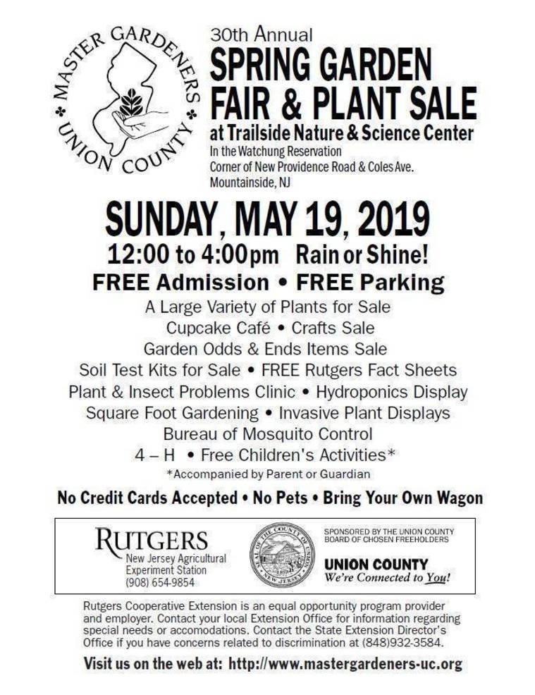 Native Plants Spring Garden Fair, May 19 flyer.JPG