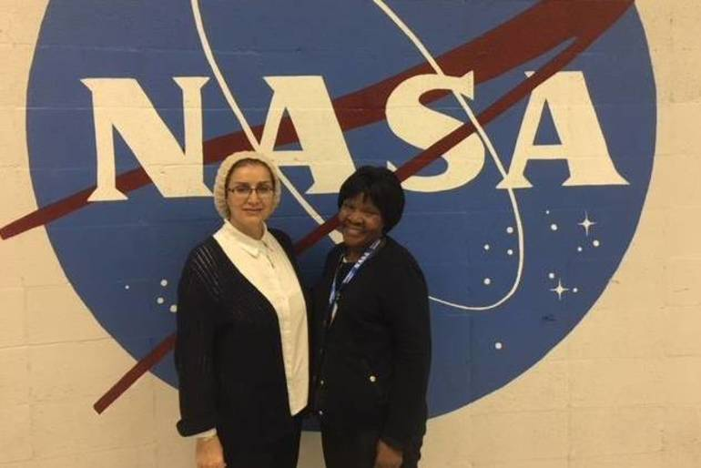 NASA photo of Dr Marashi and Dr Kamunge.JPG