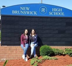 Twin Sisters are Valedictorian, Salutatorian at New Brunswick High School