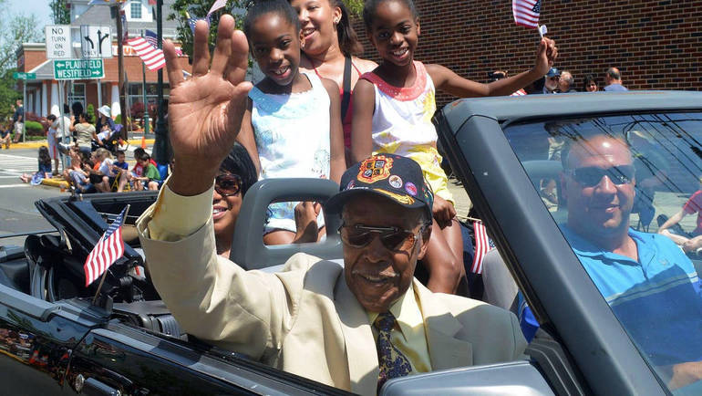 Malcolm Nettingham was the 2014 Scotch Plains-Fanwood Memorial Day Parade grand marshal.