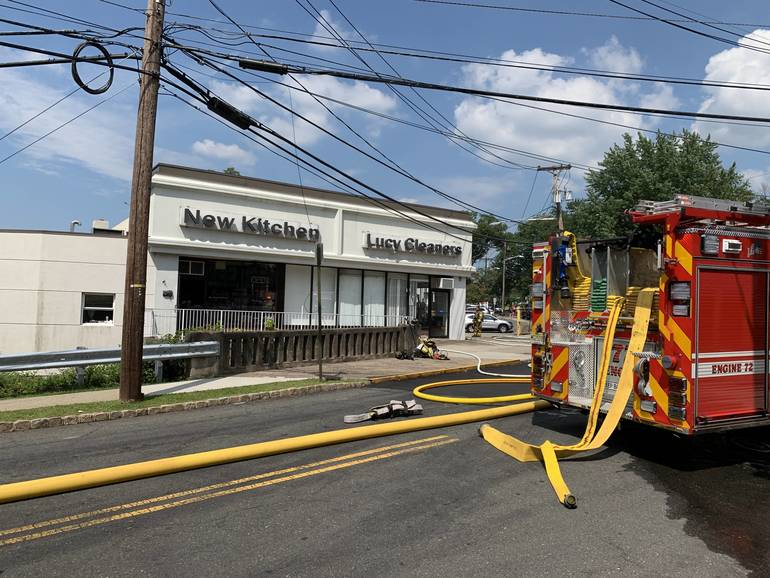 Caldwell, West Caldwell Departments Assist in Fire at Cedar Grove ...