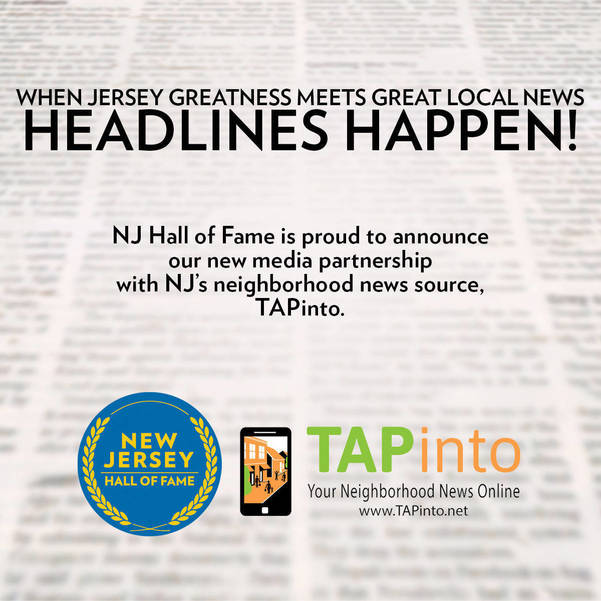 NJ Hall of Fame and TAPinto News Network Partner to Boost Pride
