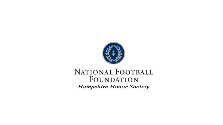 The National Football Foundation & College Hall of Fame (NFF) announced senior defensive back Joseph Behr (Sayreville, N.J./St. Joseph) as amember of the 2021 Hampshire Honor Society.