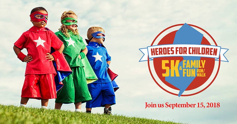 New Jersey Children's Alliance to Host Heroes For Children 5K and Family Fun Run/Walk
