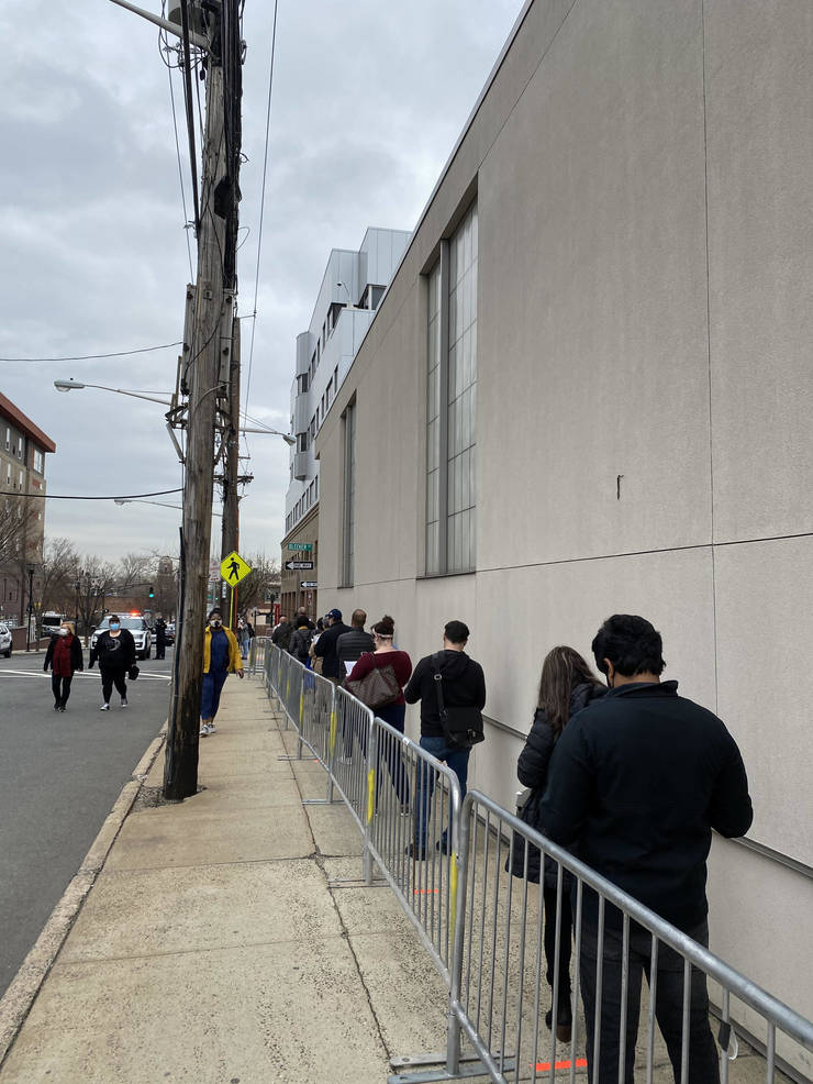 State's Largest Vaccination Site Opens in Newark: 6,000 Vaccines Administered on First Day