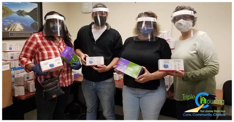 NJ DMHAS PPE Donation
