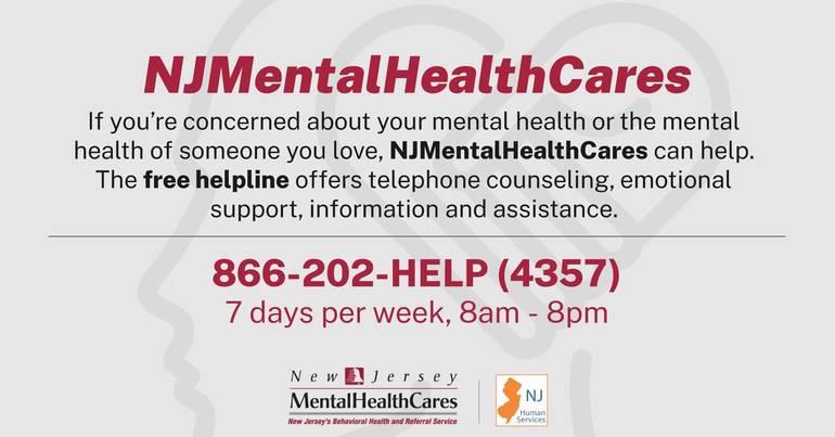 NJMentalHealthCares 866-202-HELP