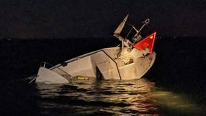 Boat Crashes into Channel Marker Late Saturday Night in Beach Haven, Six Injured