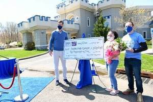 NY Giants and Make-A-Wish Grant Penny's Wish to Tackle Kids Cancer at Hackensack Meridian's Children's Health