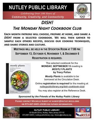 DISH! The Monday Night Cookbook Club