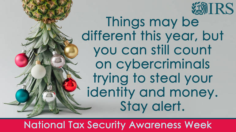 National Tax Security Awareness Week, Day 3: Security Summit offers new protections against identity theft