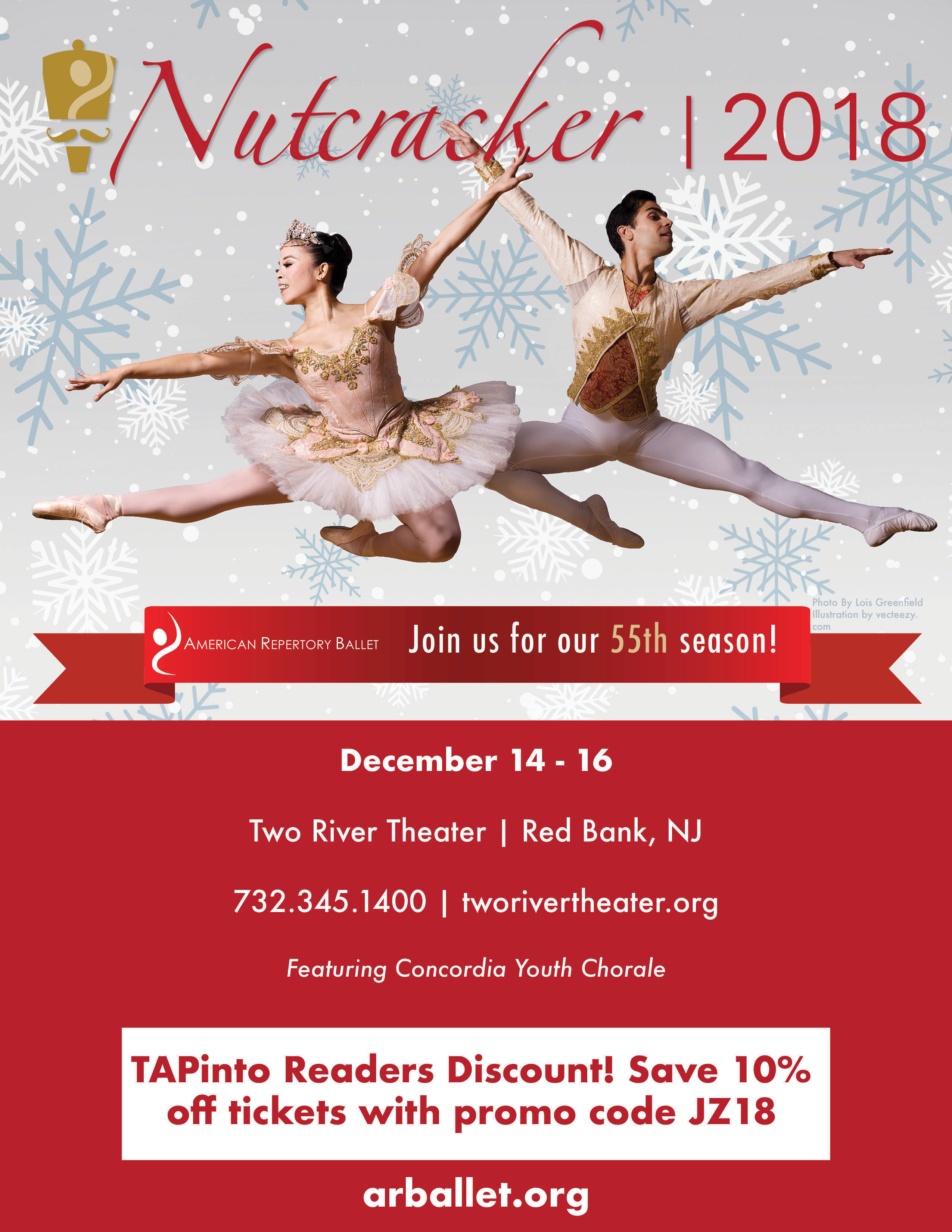 Groups of 10 or more receive the greatest discounts! Moscow Ballet's Great Russian Nutcracker is 2 hours long including a 20 minute intermission. Latecomers will be seated 20 minutes after the performance starts. Everyone, regardless of age, must have a ticket. Click to find Moscow Ballet Performances in your city.