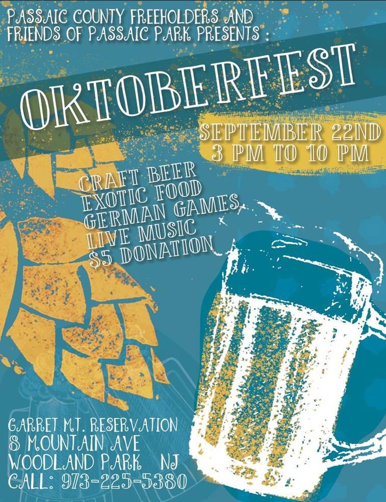 Passaic County to Host Oktoberfest and International Food Festival Saturday