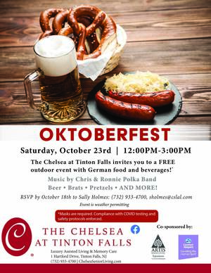 Oktoberfest German festival at Chelsea's Assisted Living community in Tinton Falls